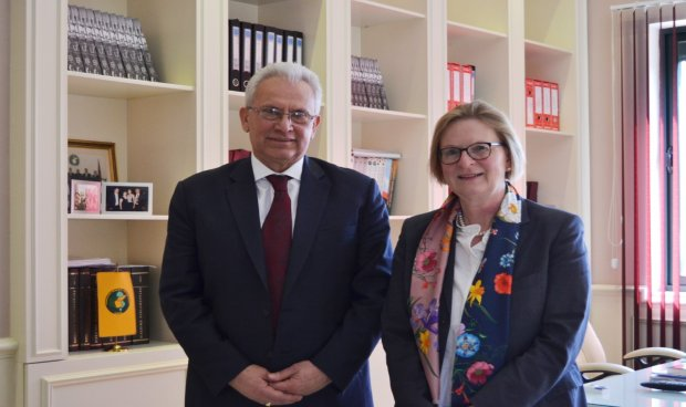 Germany Worried About Elections In Albania Ambador Meets Cec Chairman