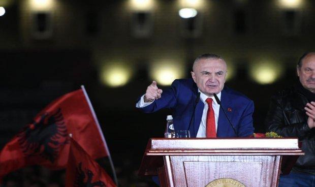 Image result for albania ilir meta protest